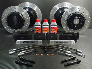 Formula Dynamics Lightweight Big Brake Kit<br>&nbsp;&nbsp;for Maserati GranCabrio 4.7L Formula Dynamics Lightweight Big Brake Kit for all Maserati 4.7L Models
