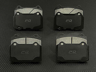 Carbon / Kevlar Performance Street Brake Pads Carbon / Kevlar Performance <u>Street Brake Pads</u> for the Maserati GranTurismo 4.2L