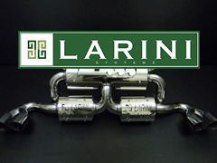 Larini Systems Exhaust High Performance Stainless Steel Larini Exhaust System for your Maserati