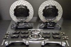 Formula Dynamics / Brembo - Big Brake Kit for<br>  Maserati Quattroporte 4.2L / 4.7L BREMBO® Big Brake Kit for the Maserati Quattroporte 4.2L / 4.7L